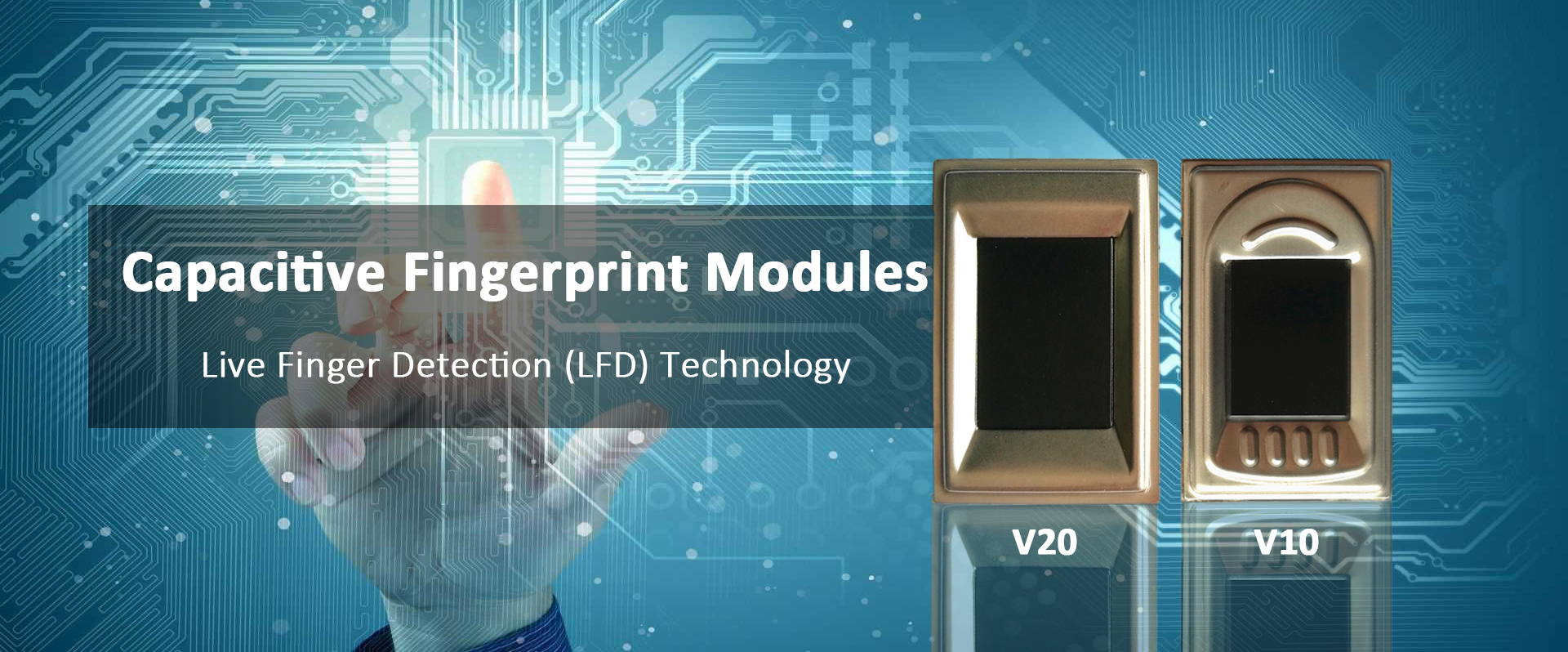 Capacitive Fingerprint Modules